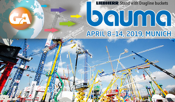 Galen in Bauma Fair